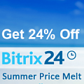 Get Up To 24% Off Bitrix24 This August Only. Рисунок